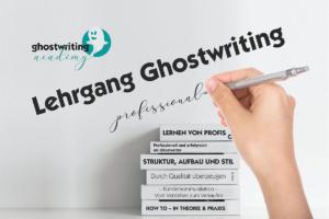 Lehrgang Ghostwriting 2021/2022
