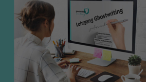 Masterclass Ghostwriting Online